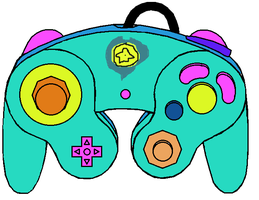 Nimue's Gamecube Controller by Tommypezmaster