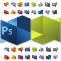 Adobe Cs5 png's and psd by osdx