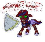 Nightmare Knight by glue123