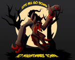 Lets all go down to nightmare town by UndeadKitty13