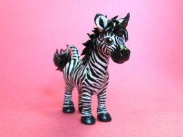 Zebra Unicorn by DragonsAndBeasties