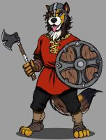 Viking Dog Fighter by TheLivingShadow