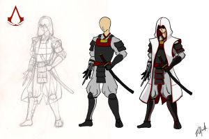 Assassin Samurai Process by patgarci