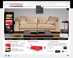 Damlakaya furniture web design by accelerator