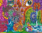 Spirits of the Psychedelic Forest by Liquid-Mushroom
