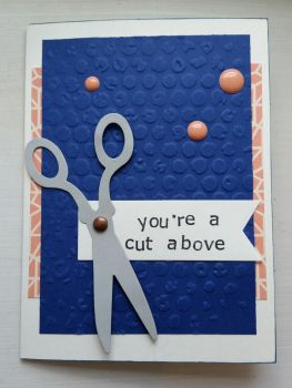 greeting card - a cut above by inconsistentsea