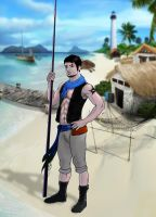 Seth in the Island by Morefeous