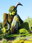 Mosaic Living Sculpture - Swan Lady by Kitteh-Pawz