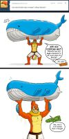 Ask Bui - Wailord Lifting by buizelmaniac