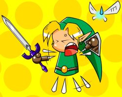 Angry Link by k1llerRabbit