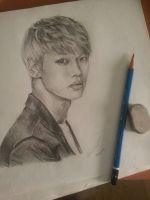 Cha Hakyeon (N) of VIXX by KuroiiMiyumi
