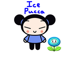 Ice Pucca by rabbidlover01