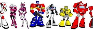 Transformers: Legend Autobot's Team Prime by skyscream1