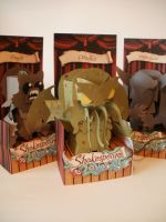 Shakespeare v Lovecraft Creature Paper Toys!!! by drobrien