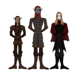 Skyrim Characters: Male by The-Serene-Mage