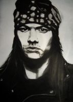 Axl Rose by Slayerlane