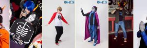 my homestuck Cosplay Timeline by Dead-Batter