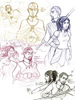 KORRAsketchesplz by artbyamandalauren