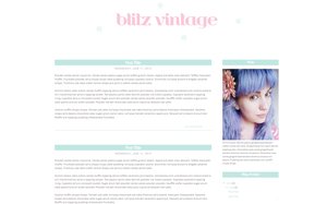 Blitz Vintage Blogger Template by candypow