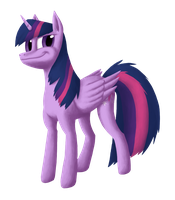Twilight Sparkle for Eric's birthday by cloneddragon