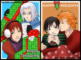 HOLIDAY CARDS 09 by xochibi