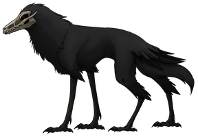Aviaskel Creature Concept by VexiWolf