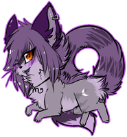 The-Fluffy-Mutt Chibi by MystikMeep