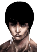Gai stares into your soul by Urvelo