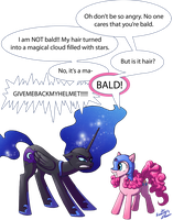 Bald by tavisharts