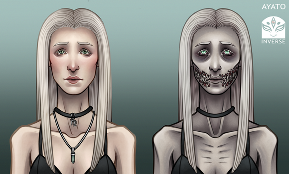Starved Angel Delilah - Before and After Death by Ayato-Inverse