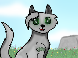 Zalaina with Shading in a Meadow by MysticalWhisper