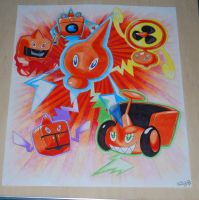 Rotoms Evolutions by PunkIn-Kitty