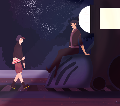 A Nice Night For a Walk (CONTEST ENTRY) by nagikura