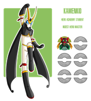 Fakemon: KamenKid by MTC-Studio