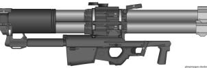 M14 SSM Rocket Launcher by SpacePhosej
