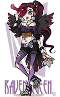 MH - Raven Queen by Roland-N