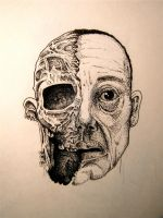 Gus Fring - Dotwork by topunto