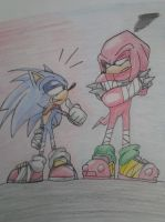 Sonic Boom: Sonic and Knuckles by solarsonic21