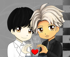 Lay and Kai - Overdose by nakuchan9095