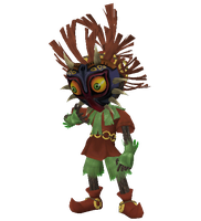 Skull Kid Brawl by StarWaffle
