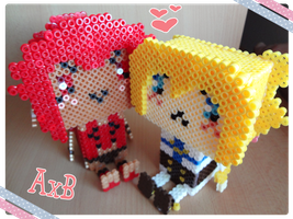 AxB bead style birthday present part 2 by J-J-Joker