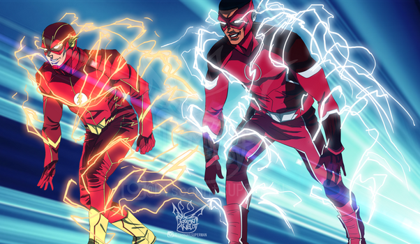 The FLASH - Friendly Race by DEMONAnelot