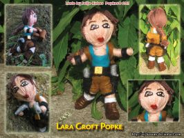 Lara Croft Popke 2011 by LadyRafira