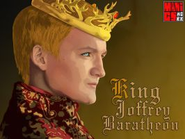 King Joffrey Baratheon by maddaluther