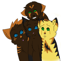 Earthfang and Longtail's Kits by SophSouffle