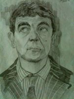 Mr.Bean Sketch by Ronlau