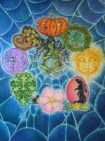 The Wheel of The Year by ALICE-on-ACID