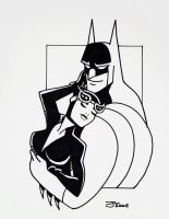 Batman and Catwoman by TheBlackCat-Gallery