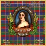 Sotch Ale beer label by amoxes