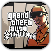 GTA San Andreas Game Icon by Wolfangraul